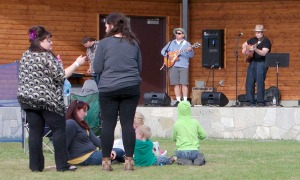 The Pepper Shakers perform June 10 in Soldotna Creek Park. The musicians today will be Holly and Bryan Hanson at 6 p.m. and Jessica Roper, Hunter Hanson and Katie Evans at 7:30 p.m. On June 24, the Denali Cooks will play from 6 to 9 p.m.