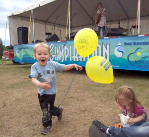 File photo by Jenny Neyman, Redoubt Reporter. The Kenai River Festival returns to Soldotna Creek Park this weekend, for its 25th anniversary.
