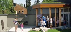 Photos by Jenny Neyman, Redoubt Reporter. Kenai Peninsula residents and visitors turned out in force to see the new Kenai National Wildlife Refuge Visitors Center during its grand opening Saturday, with a ribbon-cutting ceremony, activities, entertainment and the new building to tour.