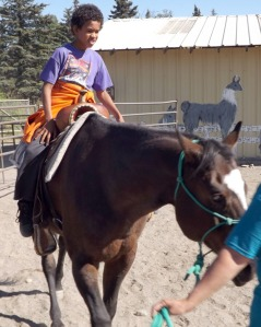 Kenai Peninsula Fair organizers continue the focus on a country feel with the fair so animals continue to be a focal point of the weekend, this year with horseback rides.