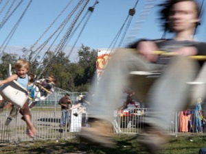 An expanded midway is a new feature of the fair, with rides and games to entertain kids and adults.