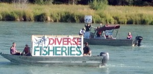 KRSA boat protest 2