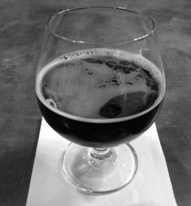 Photo by Jenny Neyman, Redoubt Reporter. An East India Porter is dark in color with perhaps some garnet highlights. The style was nearly lost to history, but will be available at St. Elias later this year.