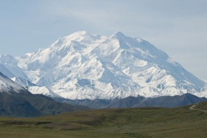 Photo courtesy of the National Park Service. Formerly called Mount McKinley, North America's highest peak was recently renamed Denali.