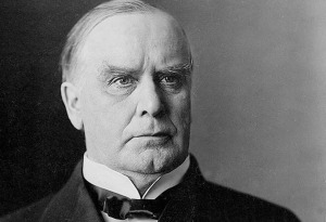 Photo courtesy of whitehouse.gov. William McKinley, the 25th president of the United States.