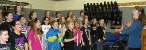 Around 200 students from 10 schools on the Kenai Peninsula participated in concerts in Homer on Friday and Kenai on Saturday.